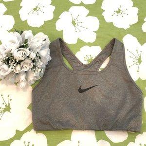 Nike Pro Sports Bra Gray